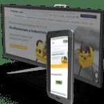site responsivo hfnet